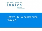 Institut National des Langues et Civilisations Orientales (INALCO)