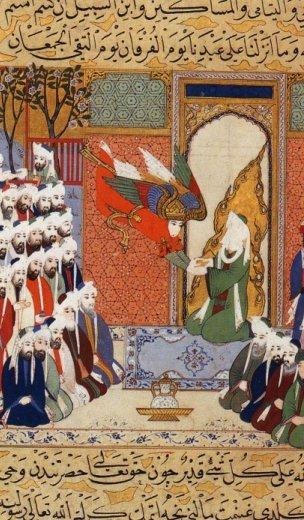 Les anges dans la spiritualité islamique