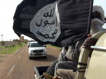 Un convoi de combattants du Mujao à Gao, le 7 août 2012. REUTERS/Stringer