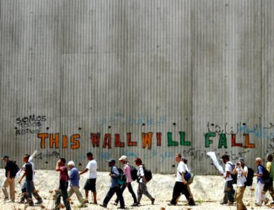 Apartheid wall will fall