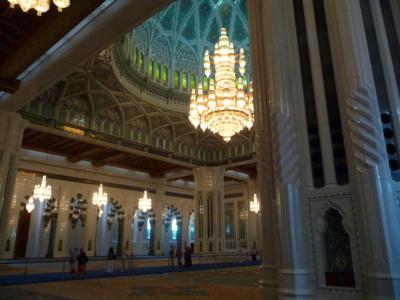 L'intérieur de la salle de prière principale (c) S. Le Maguer 2012