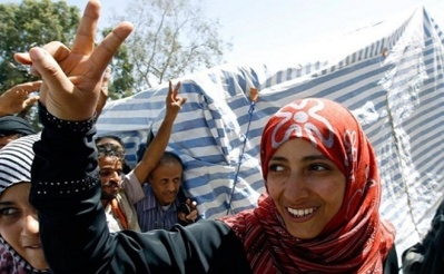Tawakkul Karman, la laureate yemenite du prix nobel de la paix