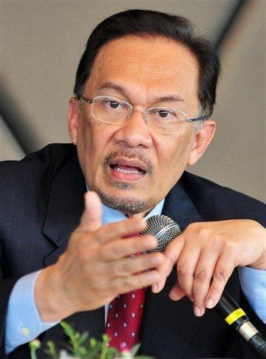 M. Anwar Ibrahim, ancien vice premier ministre malaisien