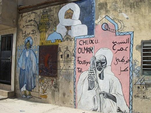 Fresque à Dakar/wikipedia