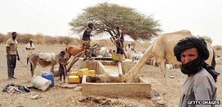 La Mauritane est essentiellement aride mais elle est riche en ressources naturelles. Photo : Getty images