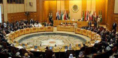 Une réunion de la ligue de la arabe