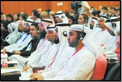 Participants arabes de l'Exposition Arabo-Chinoise, Yinchuan (Ningxia). CHINANET ningxia province network.