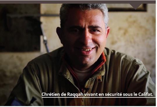 Capture d'écran du magazine Dar al-islam, n°5, juillet 2015, p. 19