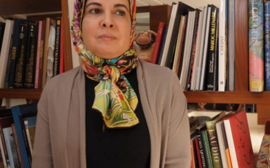 """Asma Lamrabet est l'auteur du livre """"Islam et Femmes : les questions qui fâchent"""". Ici en mai 2014 à Rabat. Photo copyright Hassan Ouazzani pour JA."""