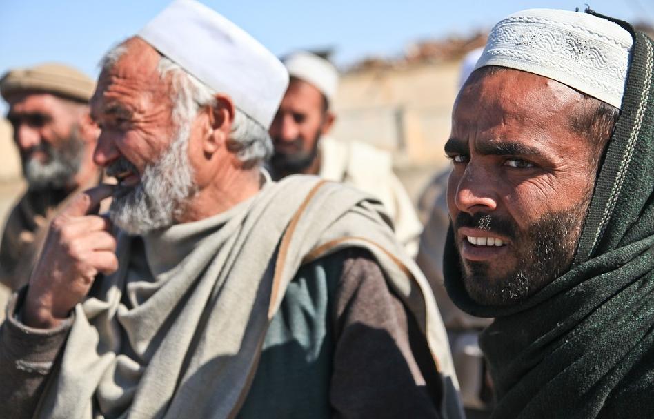Hommes en Afghanistan. CC0 Public Domain