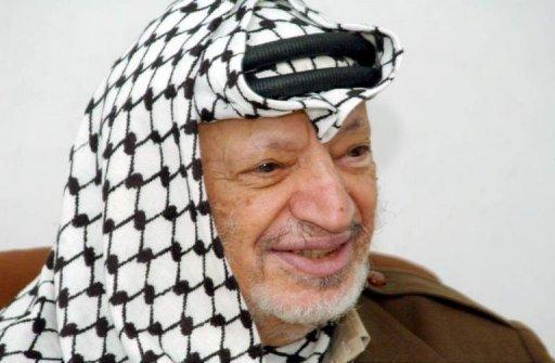 Yasser Arafat (1929-2014). Photo AFP