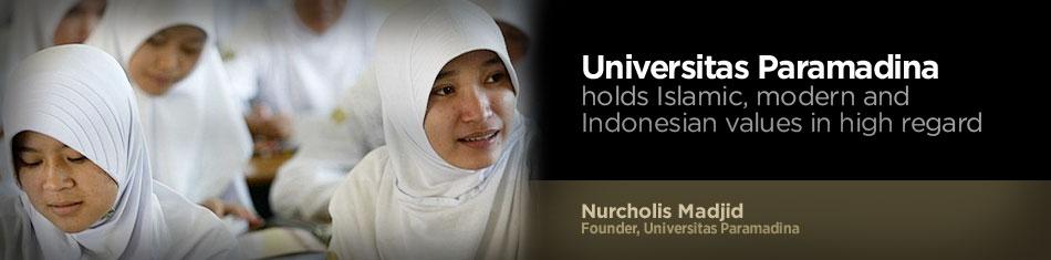 Nurcholish Madjid et la Fondation Paramadina