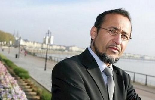 L'imam et théologien Tareq Oubrou.  © Nicolas Tucat / REA