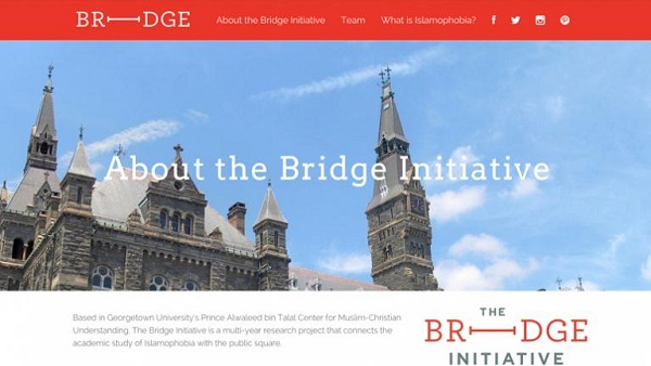 """L'université de Georgetown et l'ACMCU lancent l'initiative """"Bridge"""""""