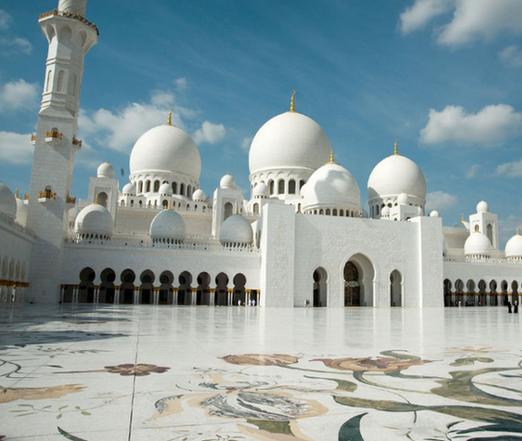 Mosquée d'Abu Dhabi