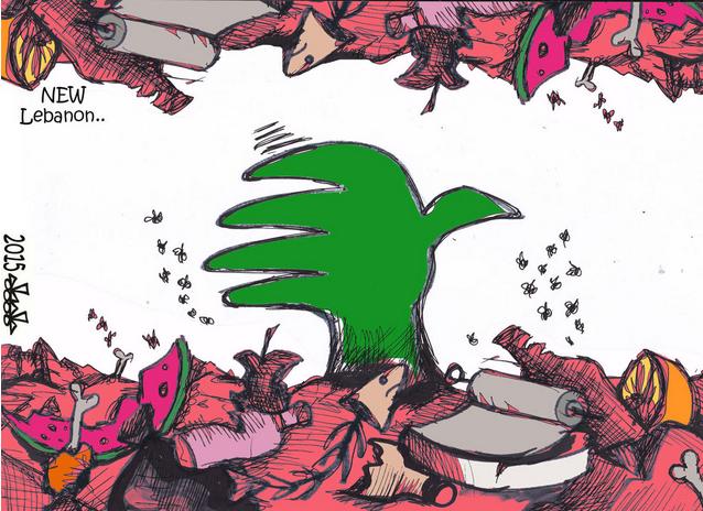 [Courrier international] Liban. A Beyrouth, une nouvelle manifestation contre l'incurie de la classe politique
