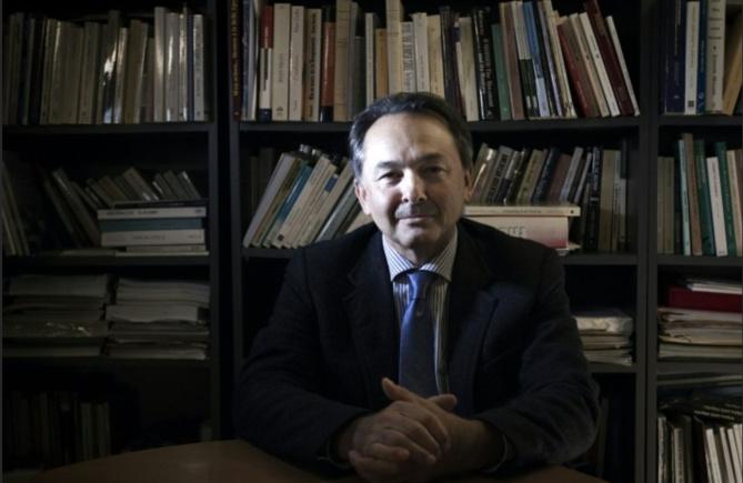 Le politologue Gilles Kepel à l'Institut d'études politiques de Paris, le 24 janvier 2012 Photo JOEL SAGET. AFP