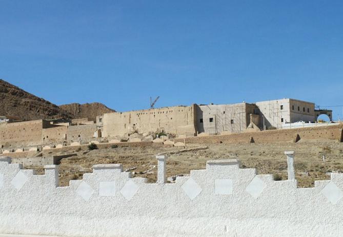 Exemple de zaouïa en Algérie. Ci dessus celle de la ville El Hamel.