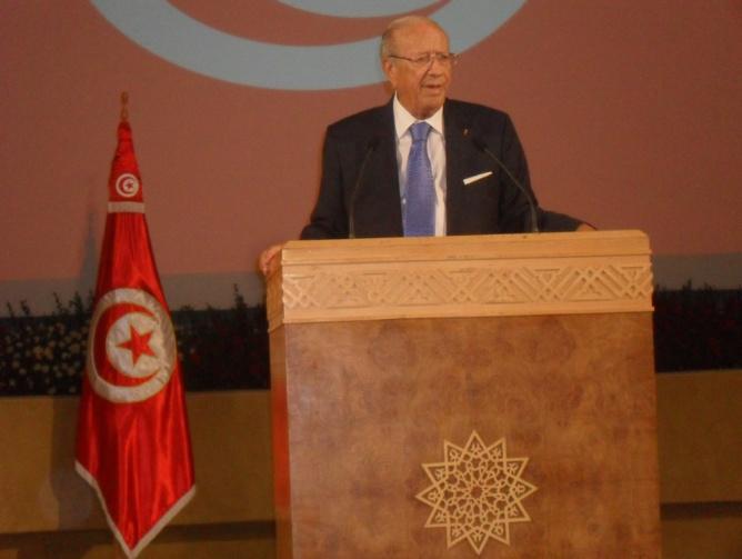 Le Président tunisien Béji Caïd Essebsi