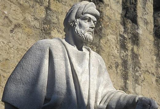 Statue d'Averroès à Cordoue © Rambaud/IMA