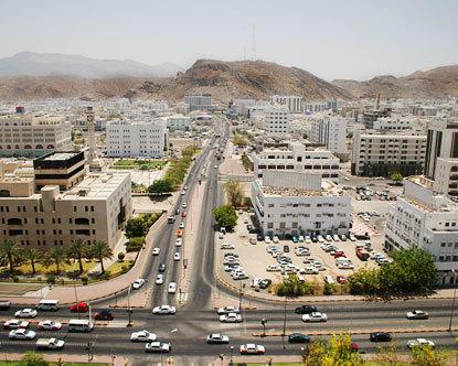 La ville de Muscat dans le sultanat d'Oman (destination 360 ©)