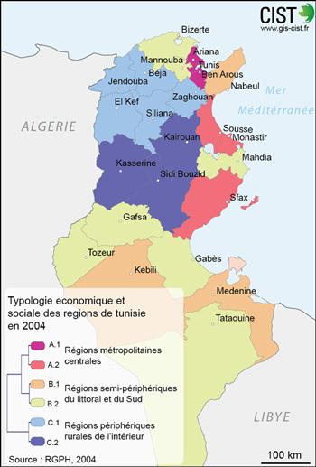 Carte réalisée par Giraud T. (CIST