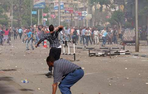 Affrontement interconfessionnels au Caire/Photo Al-Ahram hebdo