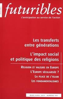 La revue Futuribles - n°293, mars 2013