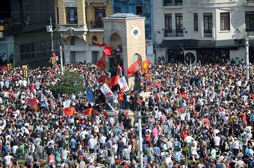 La place Taksim - Photo AFP/BULENT KILIC