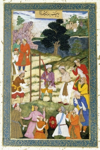 Brooklyn Museum - The Execution of Mansur Hallaj From the Warren Hastings Album