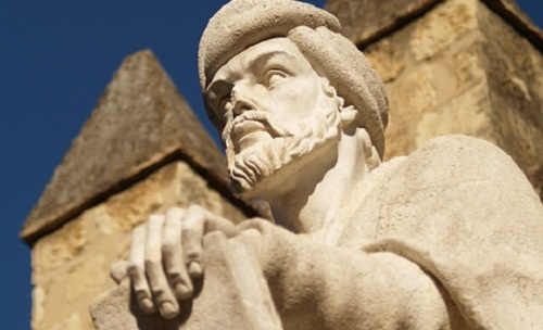 Statue d'Averroès à Cordoue