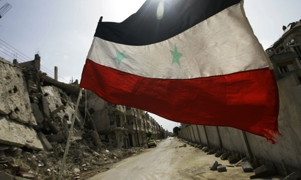 Le contrôle du gouvernement syrien dans la majeure partie de Homs ne fait aucun doute. Photograph : Joseph Eid/AFP/Getty Images