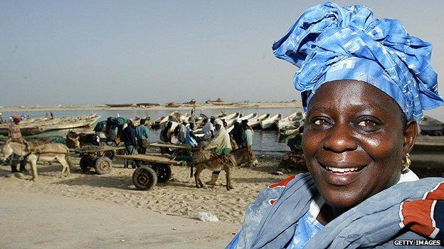 La côte mauritanienne a été un point de départ pour de nombreux migrants en route vers l'Europe. Photo copyright : Getty images