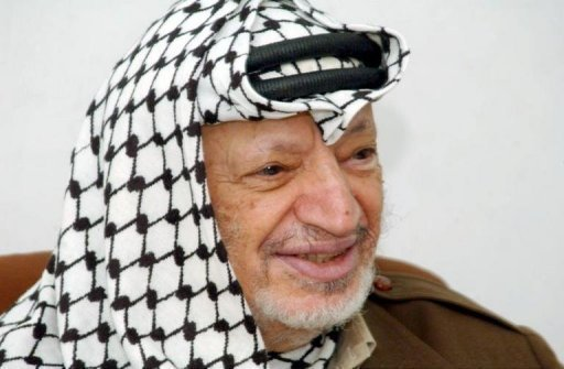 Yasser Arafat (1929-2014). Photo AFP