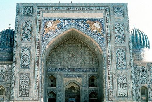 Shir Dar Madrasa.(c) Roya Marefat 1987