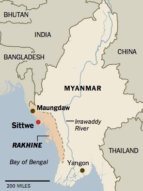 Message de la politique du Myanmar à l'intention des musulmans: Sortez.
