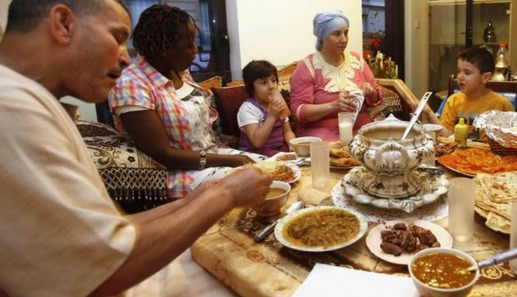 Le Ramadan de l'espoir en France