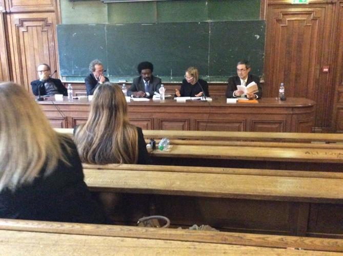 Conférence à la Sorbonne. Les Cahiers de l'Islam