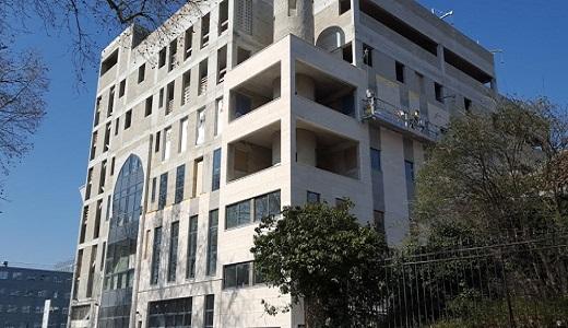 Construction Mosquée & institut Ibn Badis à Nanterre. Source inconnue