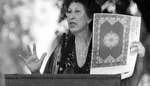 En 2003, Fatima Mernissi et l'auteure américaine Susan Sontag tous les deux lauréates du prix  Prince des Asturies pour la littérature. @Fatima Mernissi