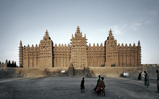 Djenne Mosque, Mali ©James Morris