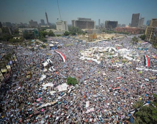 Place Tahrir (Egypte) le 29 juillet 2011