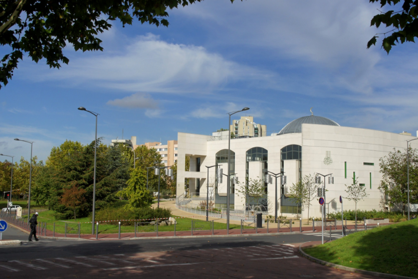 Mosquée de Créteil dans le Val de Marne. Photo domaine public
