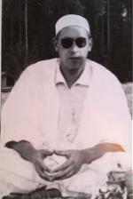 Cheikh Hadj Bentounès en Suisse, juillet 1954, photographie privée.