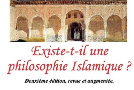 Existe-t-il une philosophie Islamique ?