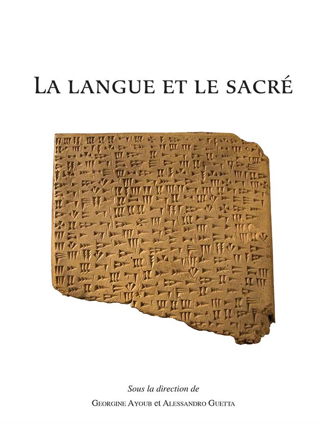 La langue et le sacré
