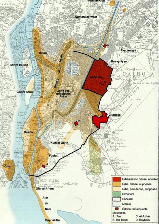 Planche 02 : Carte du Caire au XIVe siècle (53)