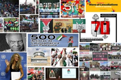 70 moments clés de la solidarité et du BDS pour la Palestine en 2018