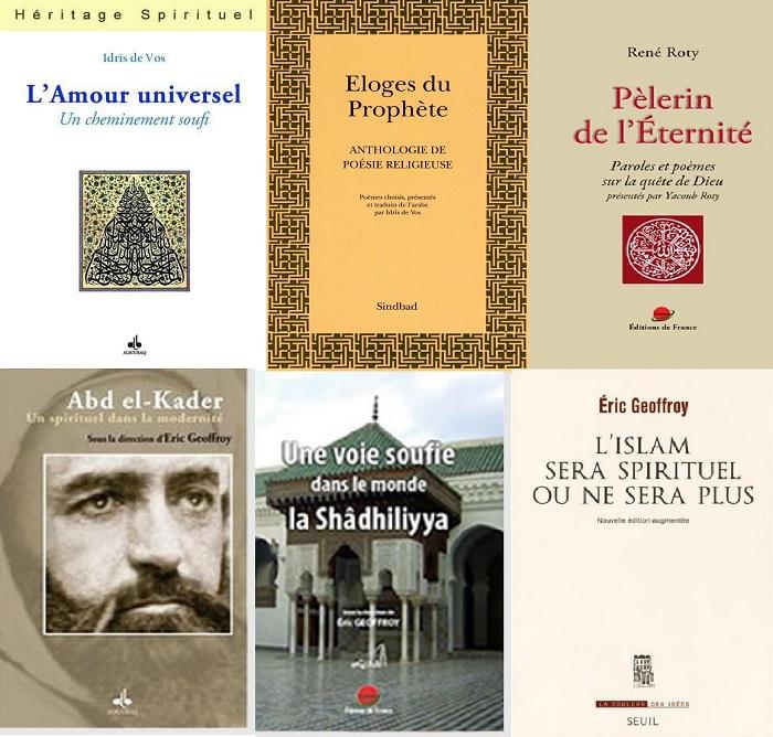 Quelques ouvrages des membres de la Fondation Conscience Soufie