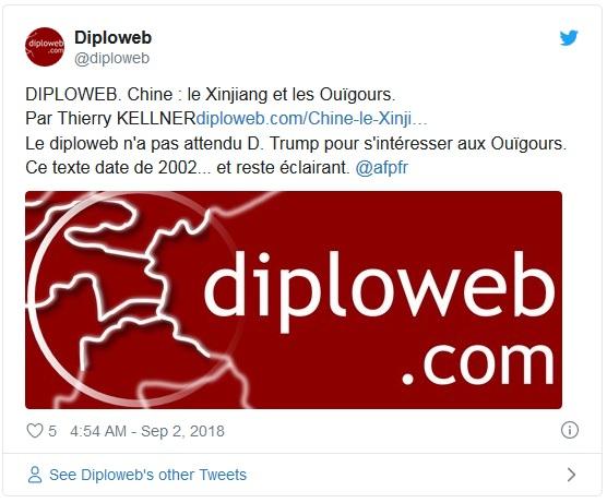 Terreur chinoise contre les Ouïghours : quand l'histoire se répète